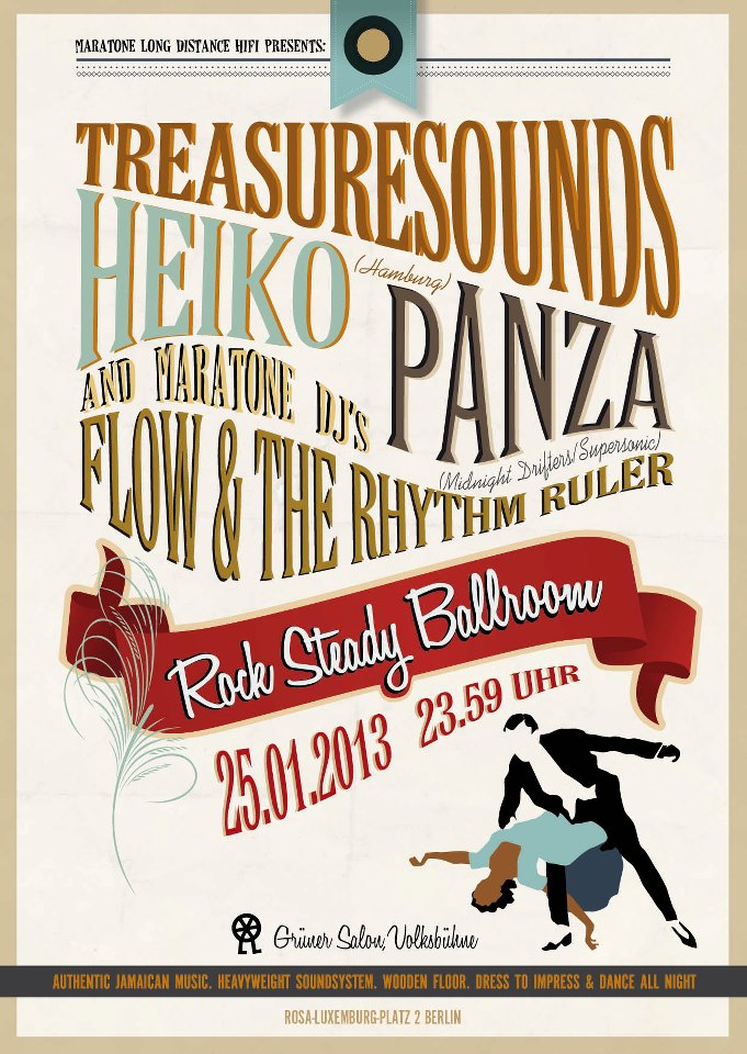Rock Steady Heiko Treasuresounds