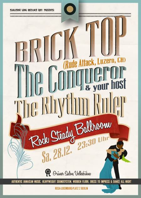 Rock Steady Ballroom Brick Top