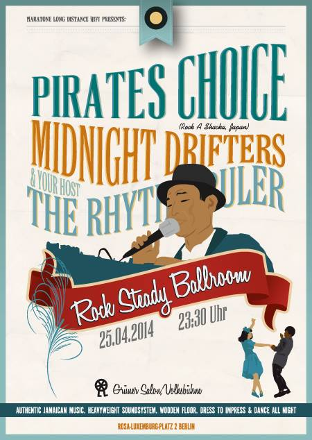 Rock Steady Pirates Choice