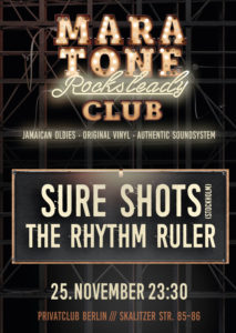 Maratone Rocksteady Club November 2017
