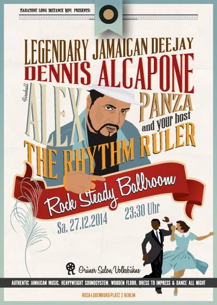 Rock Steady Ballroom Dennis Alcapone