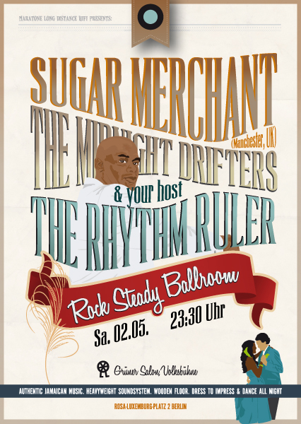 Rock Steady Ballroom Sugar Merchant