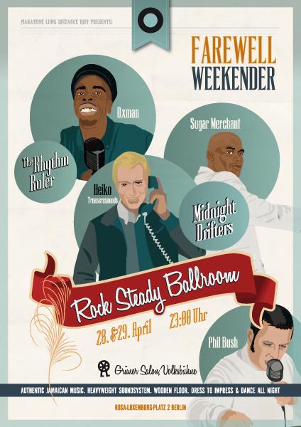 Rock Steady Ballroom Farewewell Weekender