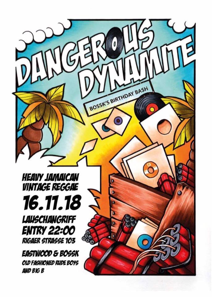 dangerous dynamite nov 18