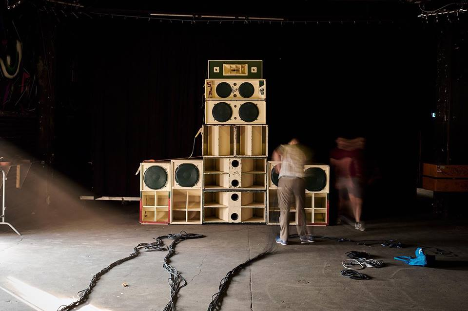 Soundsystem at YAAM