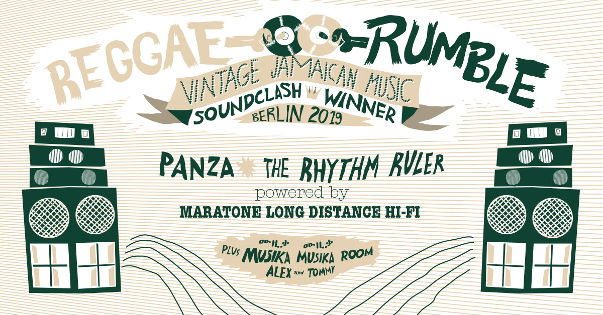Reggae Rumble - 28.9. - Badehaus Berlin