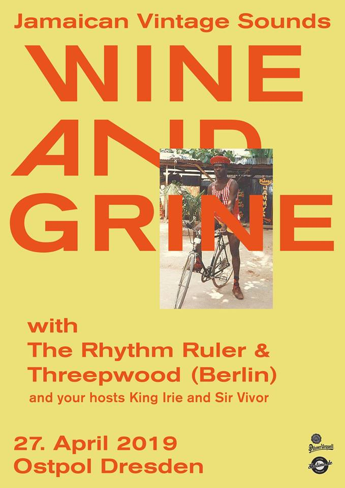Wine and Grine April 2019